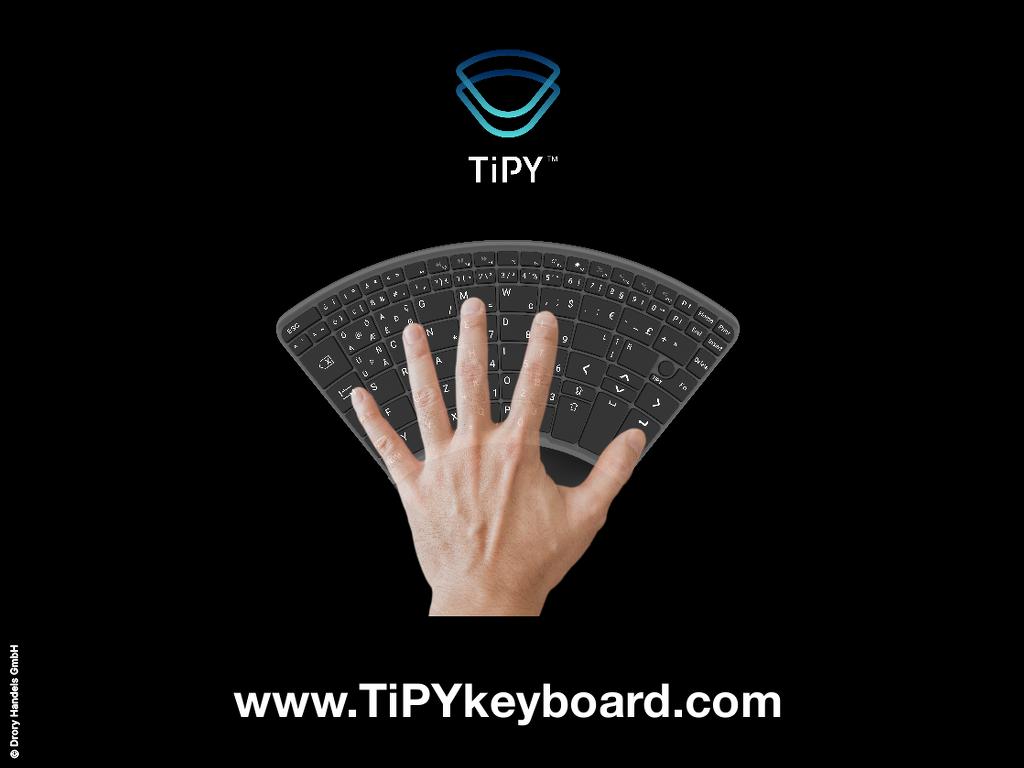Tipy Keyboard Tastatur Einhandtastatur 1 Copyright
