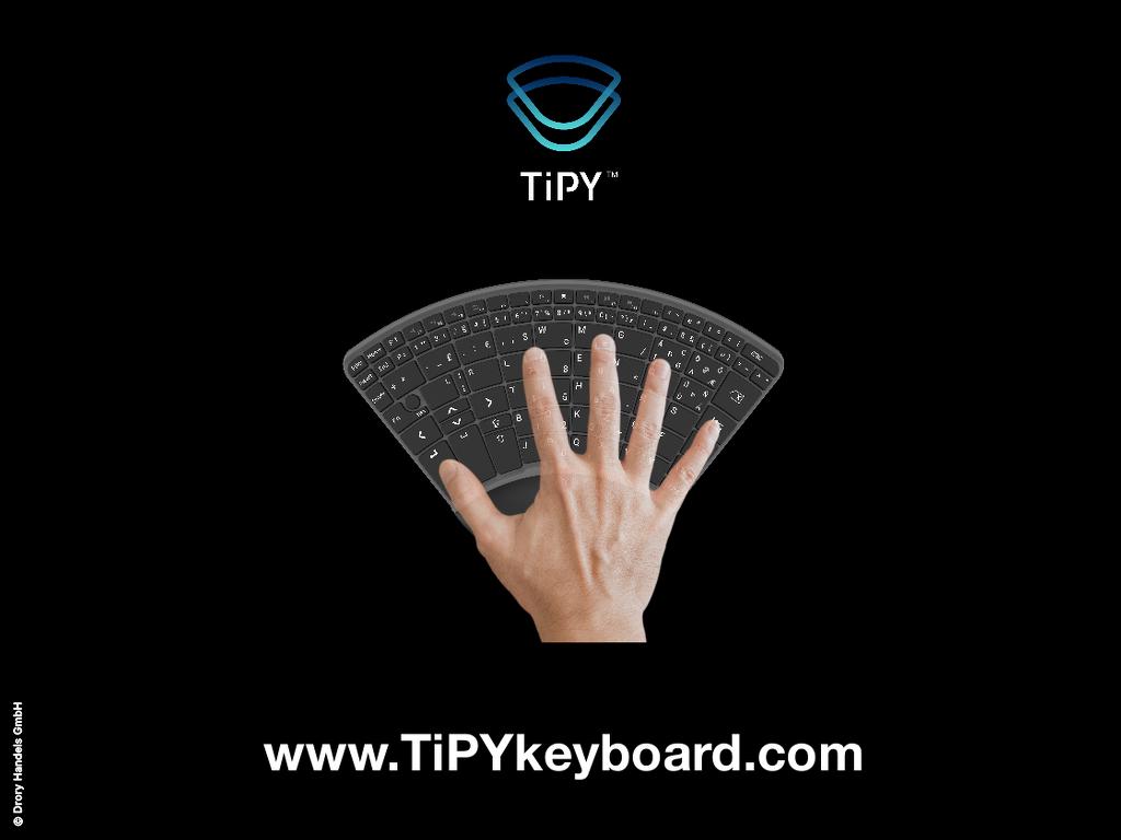 Tipy Keyboard Tastatur Einhandtastatur 2 Copyright