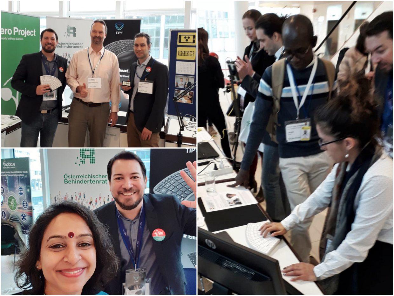 Tipykeyboard Zero Project Conference 2019 Kollegen und Besucher