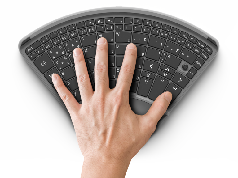 Tipy, Keyboard, Tastatur, Einhand, Einhandtastatur, Hand, One, Computer, Barrierefrei, disabled, one handed keyboard,