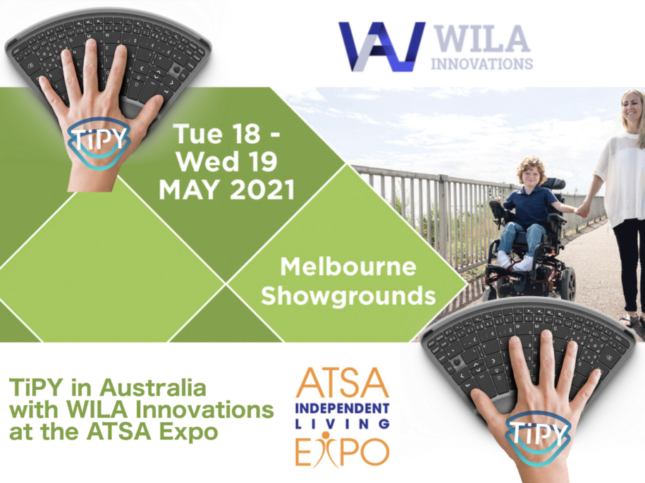 TiPY with WILA Innovations at the ATSA Expo in Melbourne Australia